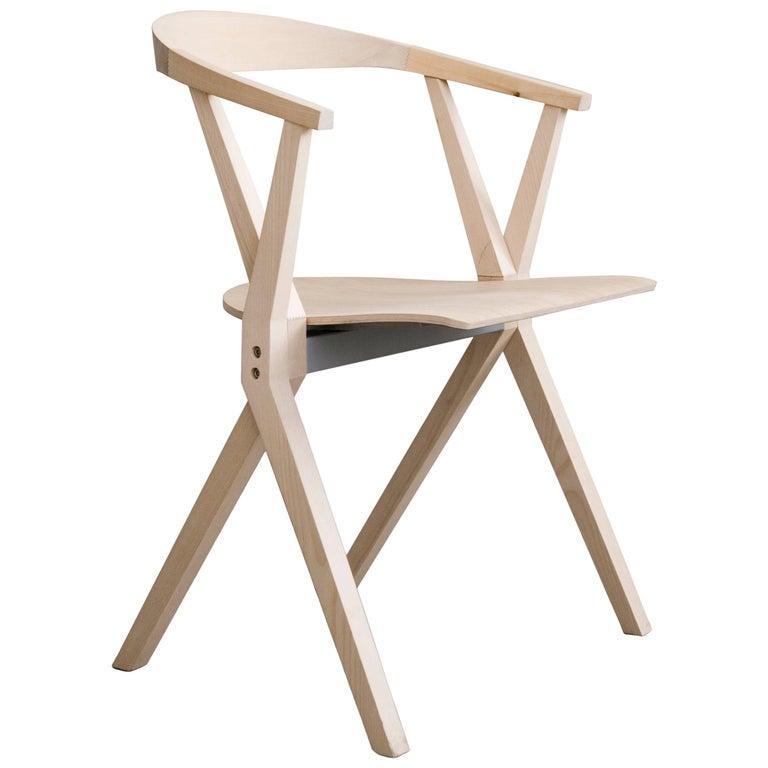B Chair, Natural Ash