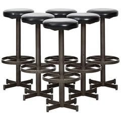 Industrial Bar Stools Probably Produced in Sweden