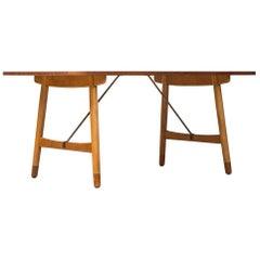 Børge Mogensen Hunting Table by Søborg Møbler in Denmark