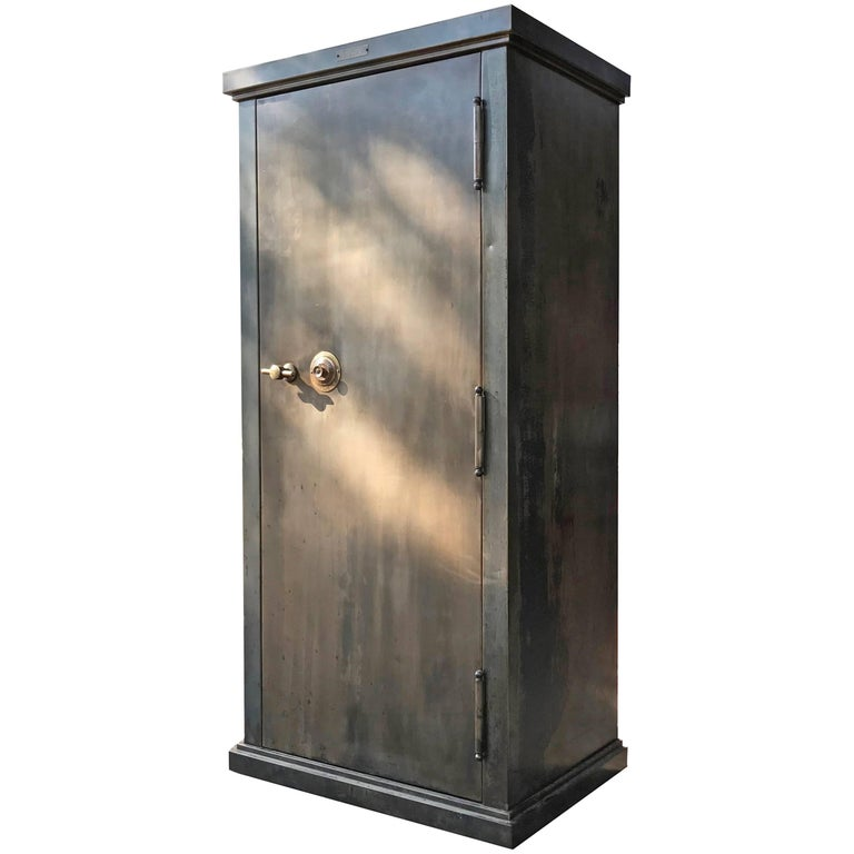 "Gunmetal Steel Safe Cabinet ""The Dick"" by The Safe Cabinet Co, Marietta OH"