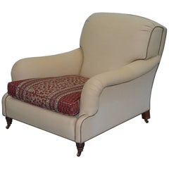 Ralph Lauren Howard Long Platform Library Reading Armchair 10/10 Comfort