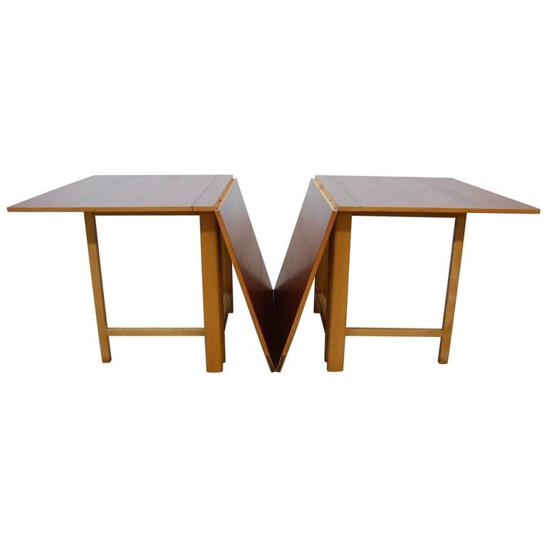 "Bruno Mathsson ""Maria"" Folding Gate-Leg Dining Table"
