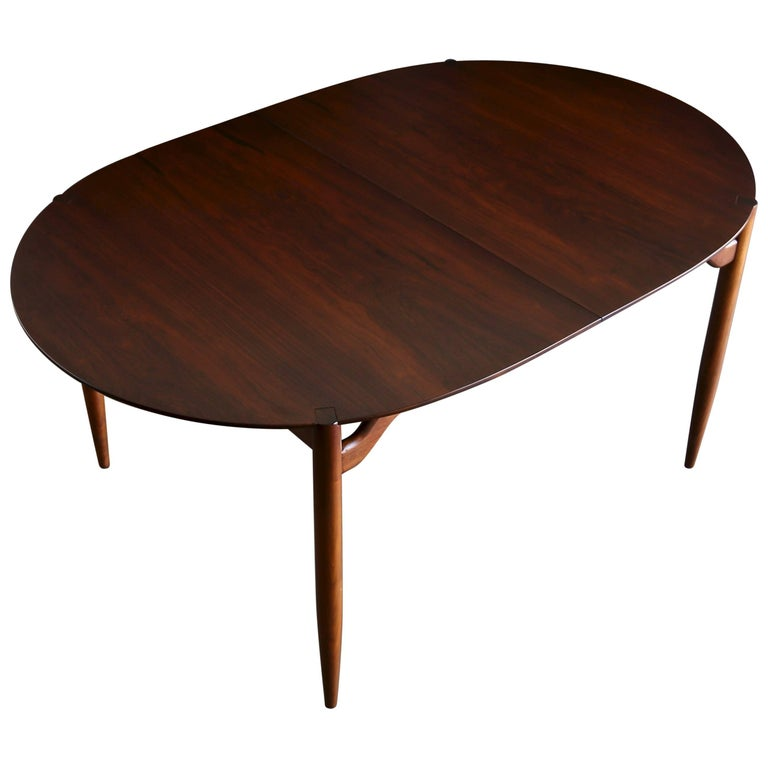 Rosewood Dining Table by Greta Grossman for Glenn of California