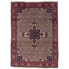 Formal Early 20th Century Mahal Rug