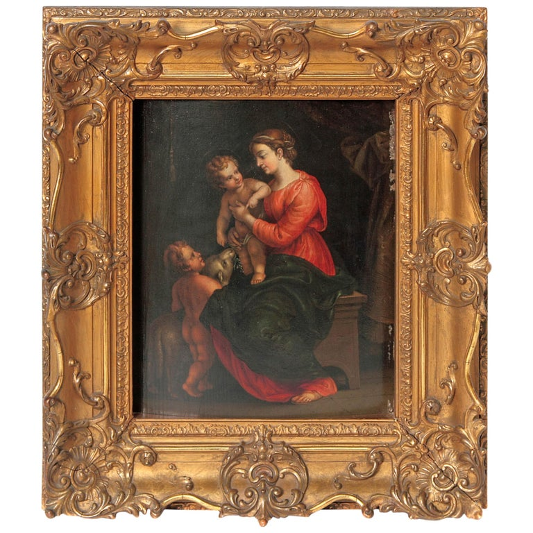 Madonna and Child with Infant Saint John the Baptist and the Lamb
