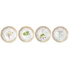 Royal Copenhagen Flora Danica Pierced Plates #20/3554