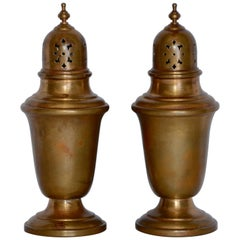 Pair of Gorham Giftware Copper Salt and Pepper Shakers L27