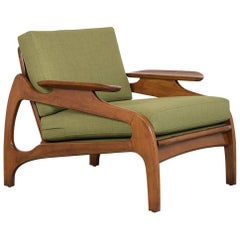 Completely Restored Adrian Pearsall Lounge Chair