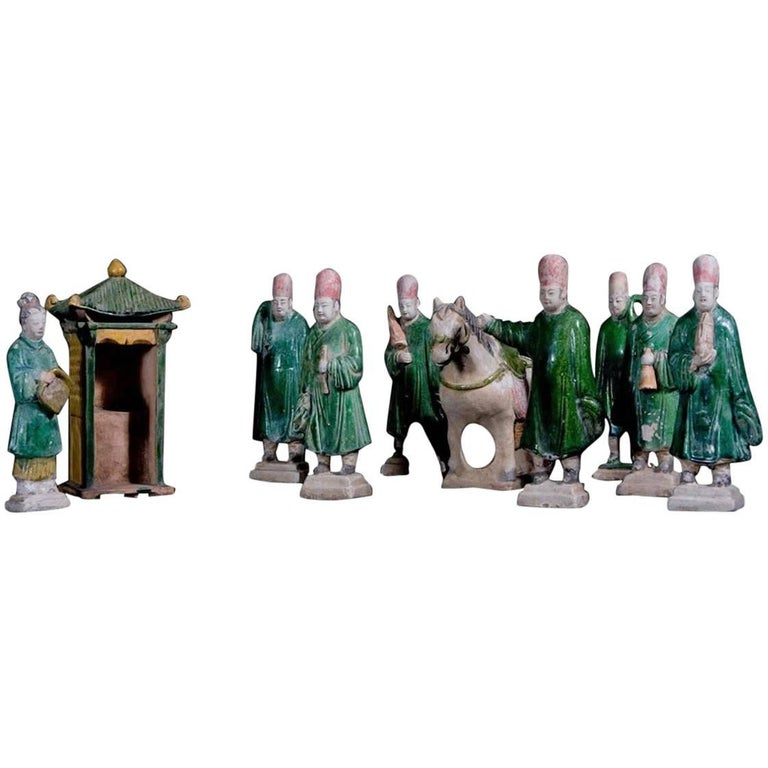 Impressive Terracotta Funerary Procession - Ming Dynasty, China '1368-1644 AD'