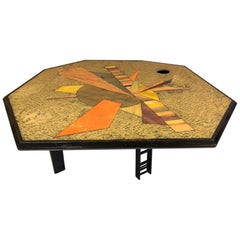 Jay Stanger Inlaid Coffee Table