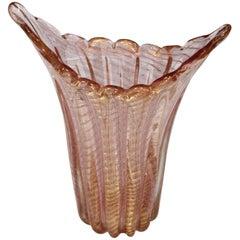 1960s Barovier & Toso Vase