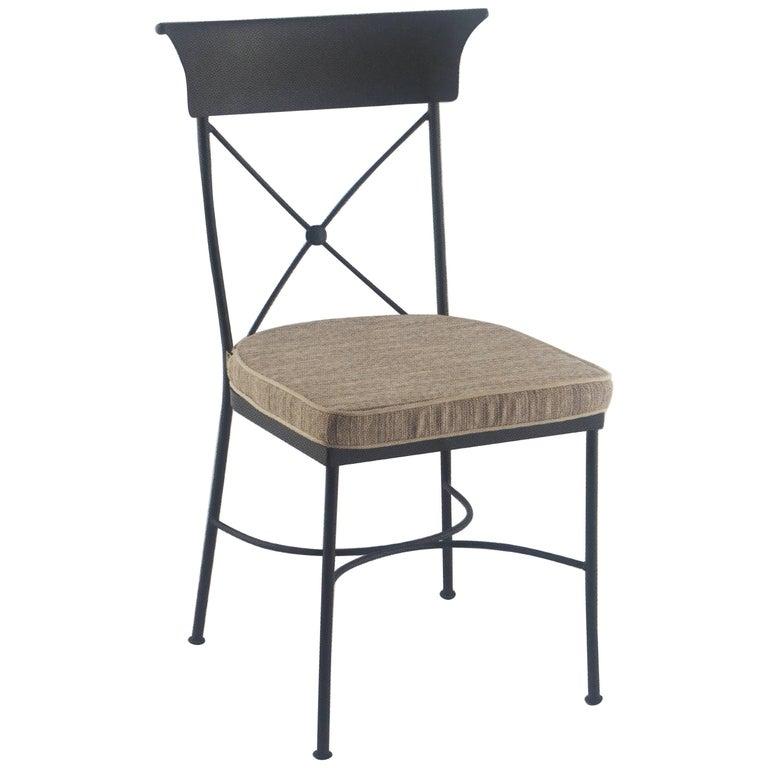 Garden Chair in Wrought Iron