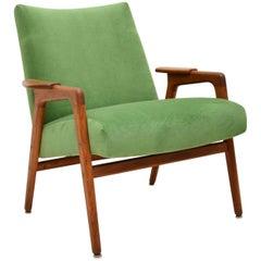 1960s Vintage Swedish Teak Armchair by Yngve Ekstrom
