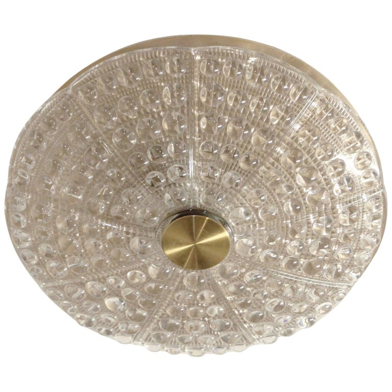 Flush Mount Ceiling Light by Carl Fagerlund, 1970s