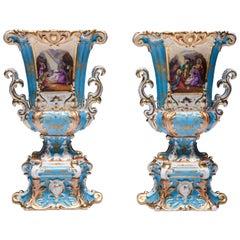 Old Paris vases