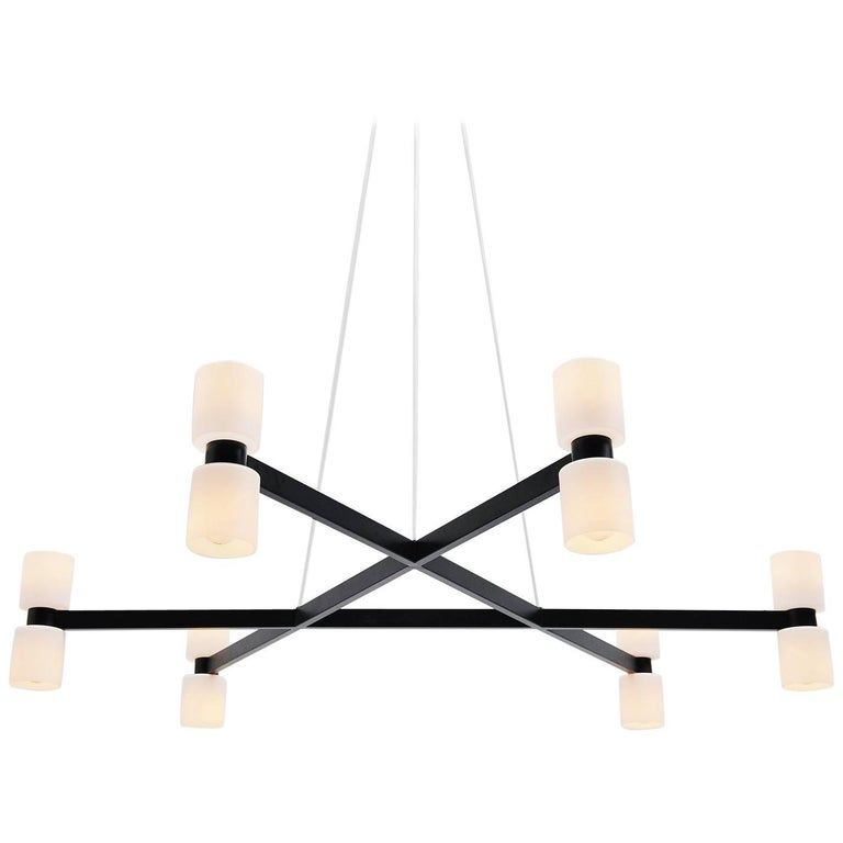 Extra Large RAAK Chandelier JW Bosman Holland, 1965