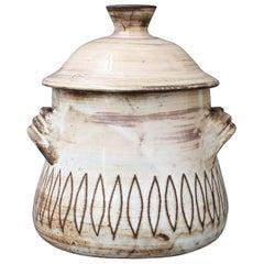 Midcentury Decorative Jar by Jacques Pouchain, Atelier Dieulefit, circa 1960s