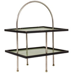 Green 1930s Functionalist Side Table