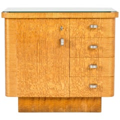Swedish 1930s Functionalist Chest of Drawers