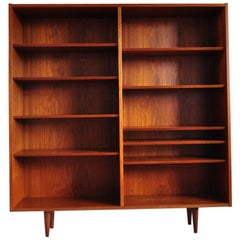 Teak Bookcase by Aage Hundevad for Hundevad & Co