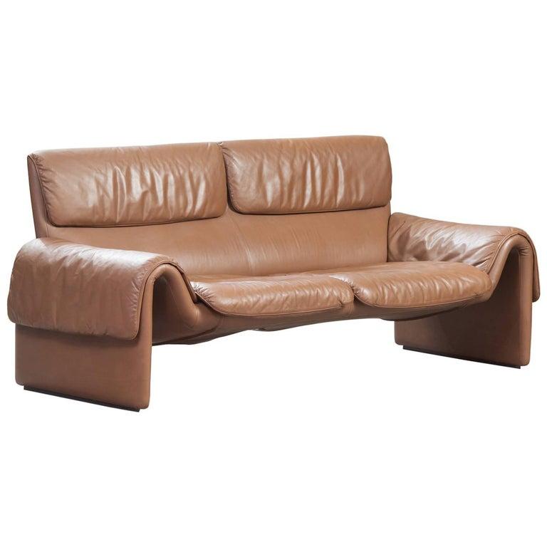 De Sede Leather Sofa Model DS-2011