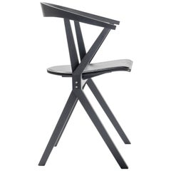 B Chair, Black Lacquered