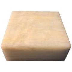 Alfred Dunhill Italian Onyx Square Trinket Box
