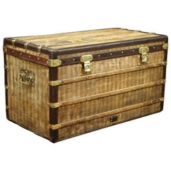Louis Vuitton Stripped  Trunk, 1889