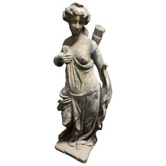 Statue of a Woman Archer