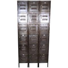 Vintage Modern Industrial Locker