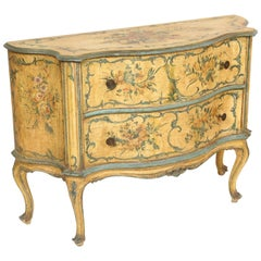 Italian Painted Chest of Drawers