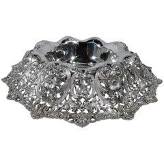 Antique Shreve Sumptuous Sterling Silver Centrepiece Bowl