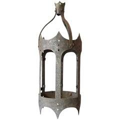 Tudor Style Zinc Lantern