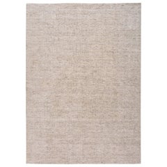 21st Century Modern Solid Indian Rug