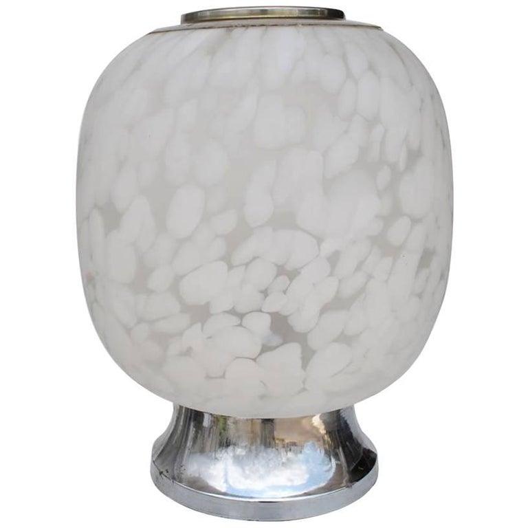 Vintage Midcentury Italian Table Lamp by Vistosi Murano, Italy