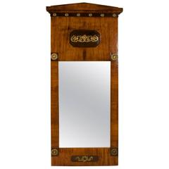 19th Century Northern European Neoclassic Biedermeier Mirror
