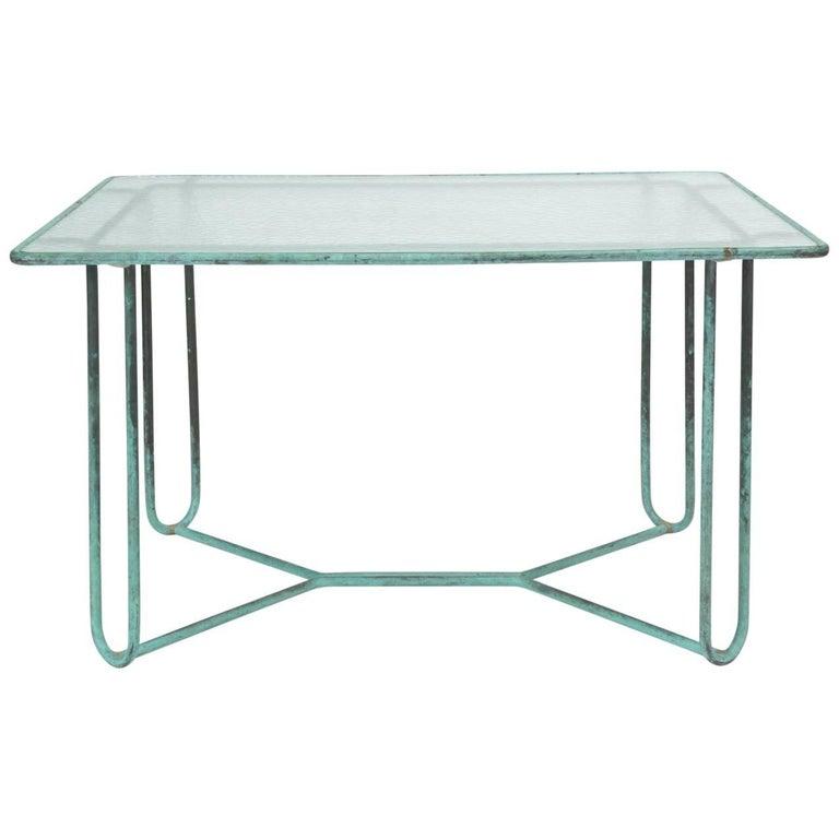 Walter Lamb Patio Dining Table