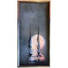 Original Modern Impressionist Painting by Ivar Bruun