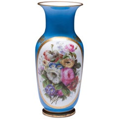 Beautiful Hand-Painted Old Paris Porcelain Vase