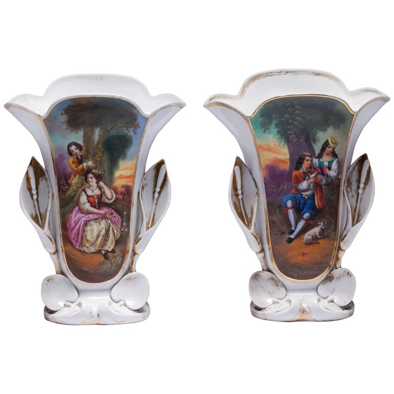 Old Paris Antique Vases For Sale At 1stdibs