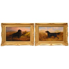 "Pair of ""Gun Dogs"" by Robert Nightingale"