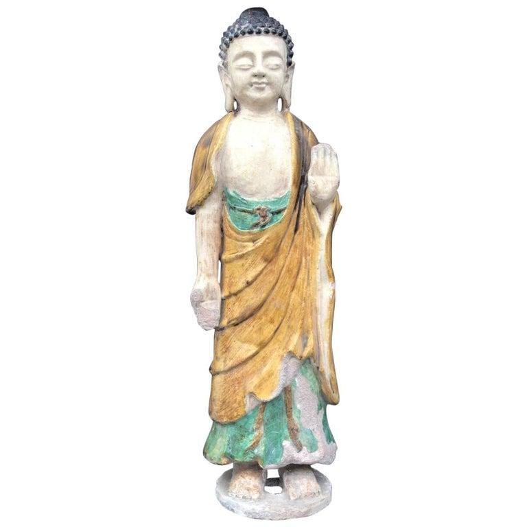 Authentic Ming Dynasty Standing Guan Yin Buddha, Thermoluminescence