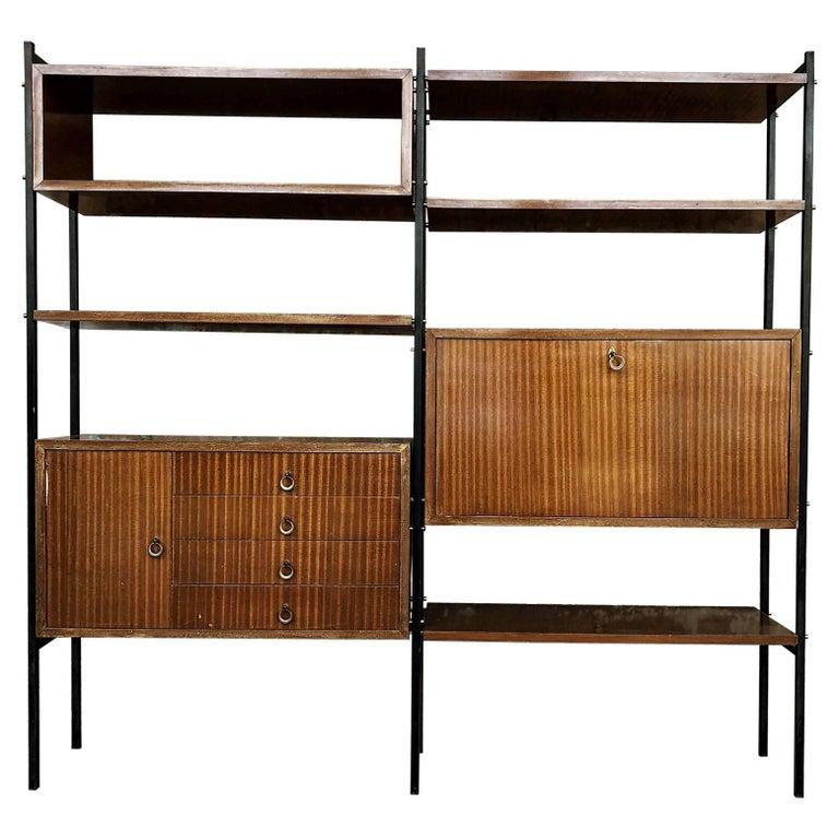 Scandinavian Midcentury Rosewood Bookcase, 1960s