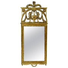 19th Century Scandinavian Giltwood Mirror