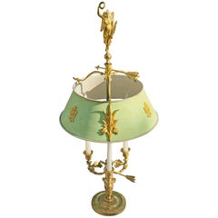 19th Century Russian Empire Ormolu Bouillotte Lamp