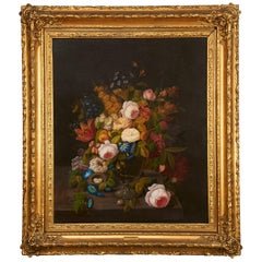Floral Still Life by Severin Roesen