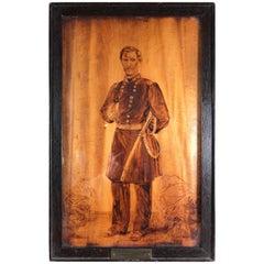 Fine American Art Signed George B. McClellan Major General, Boston Jan 22, 1862
