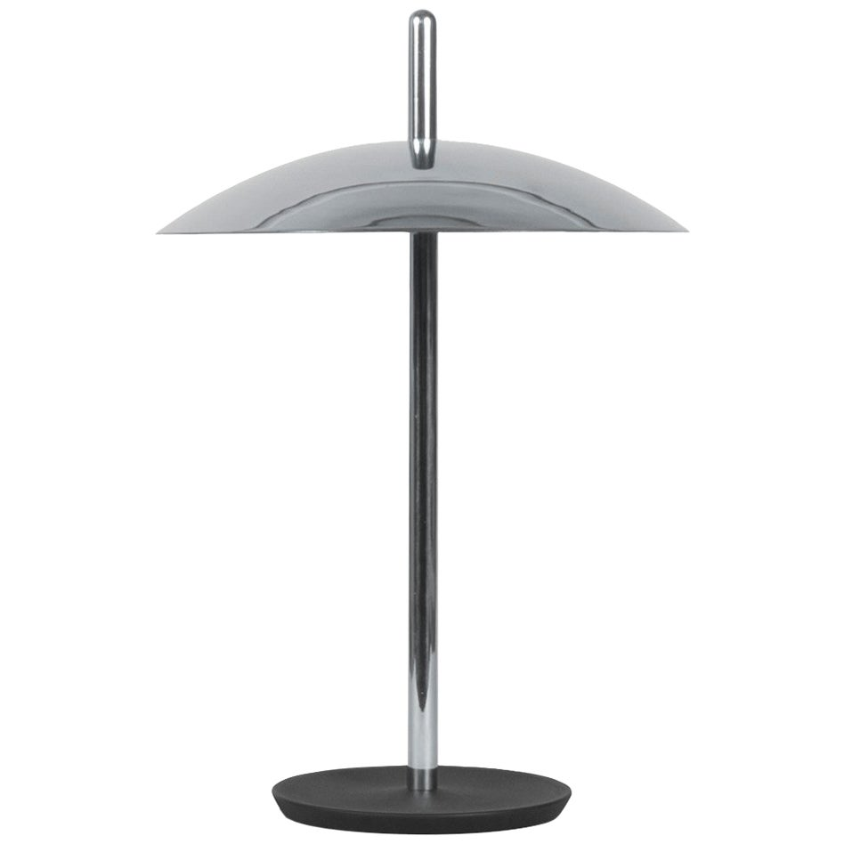Customizable Signal Table Lamp from Souda, Nickel, Made to Order