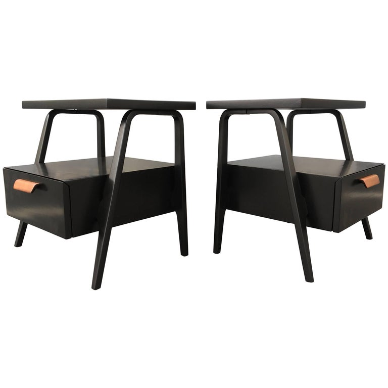 Mid-Century Modern Nightstands End Tables