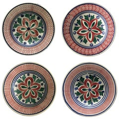 Set of Four Dutch Soup or Pasta Bowls